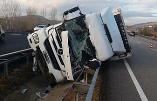 Eskişehir'de trafik kazası: 1 ölü