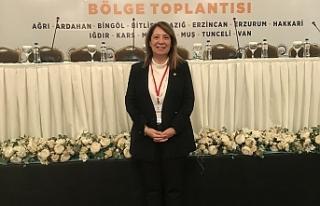 PROF. DR. GÜNAY BAKAN YARDIMCILARI İLE VAN'DA