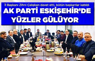AK Parti Eskişehir'de başkanlar bir arada