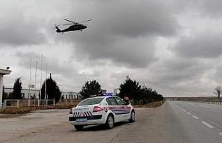 İl Jandarma Komutanlığından 'havadan trafik...