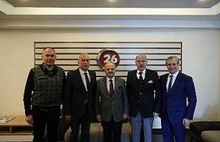 Vali Çakacak'tan Kanal 26'ya ziyaret