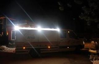 AFAD Eskişehir 3 araç 14 kişilik ekiple deprem...