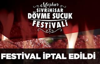 Dövme Sucuk Festivali iptal edildi!