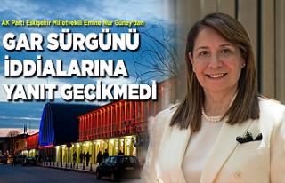 Milletvekili Emine Nur Günay'dan 'gar sürgünü'...