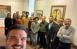 Rektör Çomaklı, Müzede Selfie Günü'ne destek...