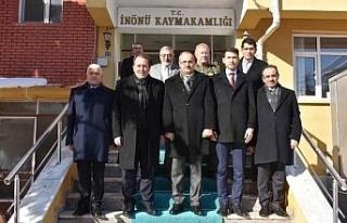 THK Genel Başkanı Aşçı, İnönü'yü ziyaret...