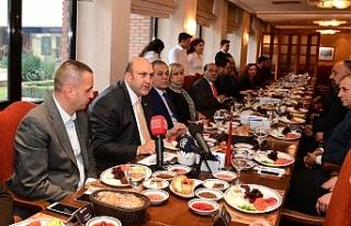 Anadolu Üniversitesi basın temsilcilerini ağırladı