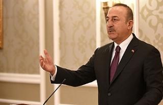 Dışişleri Bakanı Çavuşoğlu: 'Yurt dışında...