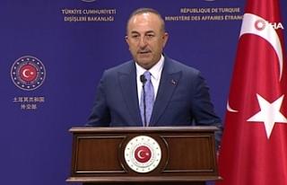 Bakan Çavuşoğlu: 'Fransa bir darbeciyi destekliyor'
