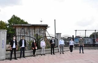 AK Parti Tepebaşı İlçe Başkanı Hakan Çizmelioğlu...