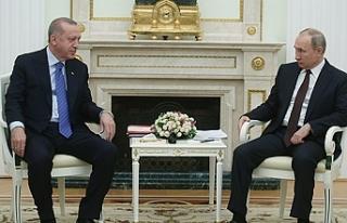 Cumhurbaşkanı Erdoğan, Rusya Devlet Başkanı Vladimir...