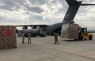 Türkiye, ikinci defa Afrika ülkesi Çad'a yardım...