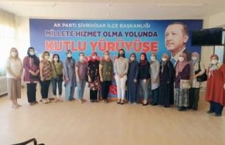 AK Parti Eskişehir Kadın Kolları'nda kongre süreci...