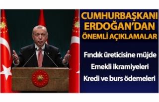 Cumhurbaşkanı Erdoğan: 'Bu bayramda altıncı...