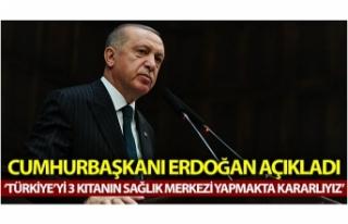 """Cumhurbaşkanı Erdoğan: """"Türkiye'yi 3..."""