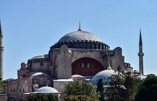 Din İşleri Yüksek Kurulu'ndan Ayasofya Camii...