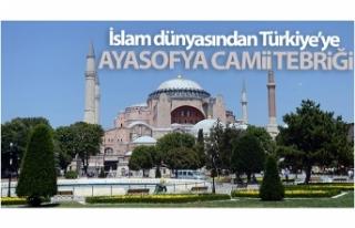 İslam dünyasından Türkiye'ye, Ayasofya Camii...