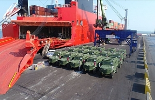 Türk zırhlı muharebe aracı 'Hızır'...
