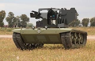 Türkiye'nin ilk insansız mini tankı TSK envanterine...