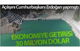 Açılışını Cumhurbaşkanı Erdoğan yapmıştı,...