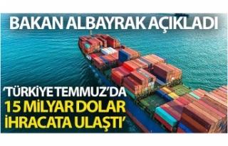 """Bakan Albayrak: """"Türkiye, Temmuz ayında 15..."""