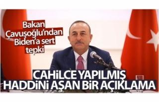 Bakan Çavuşoğlu: 'Türk milleti olarak böyle...