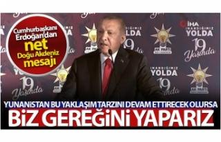 Cumhurbaşkanı Erdoğan: 'Kıta sahanlığımızda...