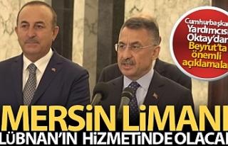 Cumhurbaşkanı Yardımcısı Oktay: 'Mersin...