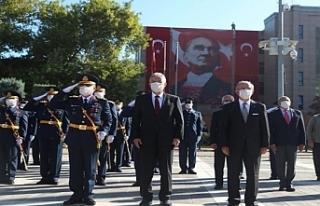 Eskişehir'de 30 Ağustos Zafer Bayramı düzenlenen...