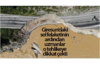 Giresun'daki sel felaketinin ardından uzmanlar...
