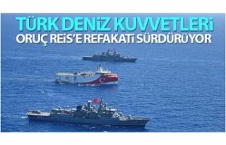 Türk Deniz Kuvvetleri, Oruç Reis'e refakati...