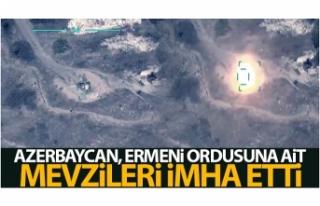Azerbaycan, Ermeni ordusuna ait mevzileri imha etti