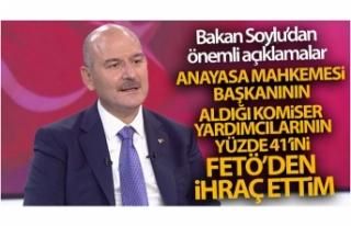 Bakan Soylu: 'Aldığı komiser yardımcılarının...