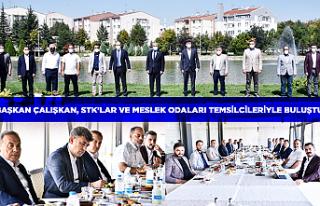 Başkan Çalışkan, STK'lar ve Meslek Odaları...