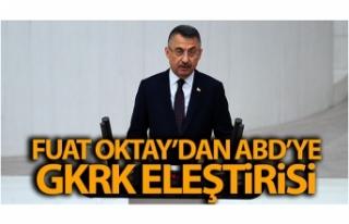 Cumhurbaşkanı Yardımcısı Fuat Oktay'dan...