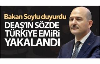 DEAŞ'ın sözde Türkiye emiri yakalandı ve...