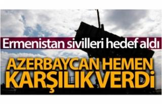 Ermenistan ordusu sivilleri hedef aldı, Azerbaycan...