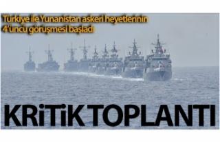 Türkiye-Yunanistan askeri heyetleri arasında teknik...