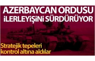 Azerbaycan ordusu, Madagiz çevresinde stratejik tepeleri...
