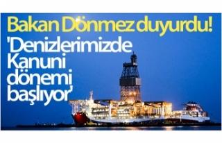 Bakan Dönmez: 'Denizlerimizde Kanuni dönemi...