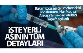 Batuhan Yaşar: 'İşte yerli aşının tüm...