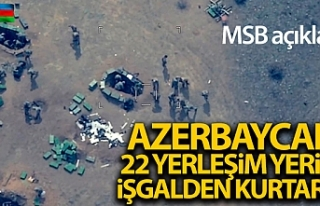 MSB: 'Azerbaycan Silahlı Kuvvetleri tarafından...