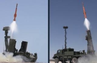 Milli hava savunma füze sistemi göreve hazır
