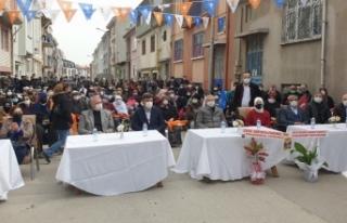 AK Parti Odunpazarı'nda Emek mahallesi irtibat...