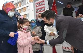 AK Parti Tepebaşı İlçe Başkanlığı Berat Kandili'ni...