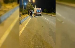 Çevre yolundaki trafik kazasında 1 kişi ağır...