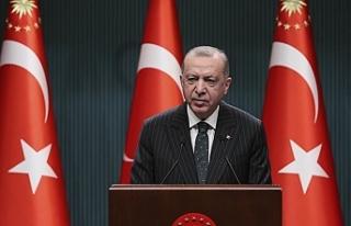 Erdoğan, esnaf için yeni hibe destek programını...