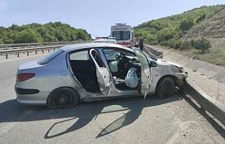 Eskişehir'de trafik kazası, 3 kişi yaralandı