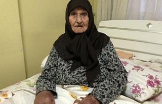 Konyalı 100 yaşındaki Peten ninenin Cumhurbaşkanı...