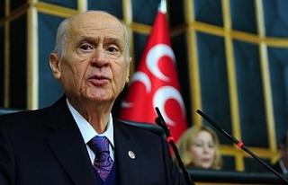 MHP Genel Başkanı Bahçeli; İçişleri Bakanı...